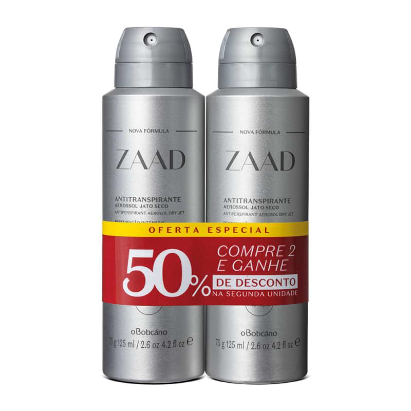 Kit o Boticário Zaad Desodorante Antitranspirante (2 Unidades)