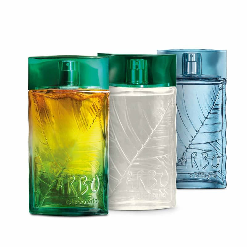 Combo Arbo Desodorante Colônia: Arbo 100ml + Arbo Liberté 100ml + Arbo Ocean 100ml