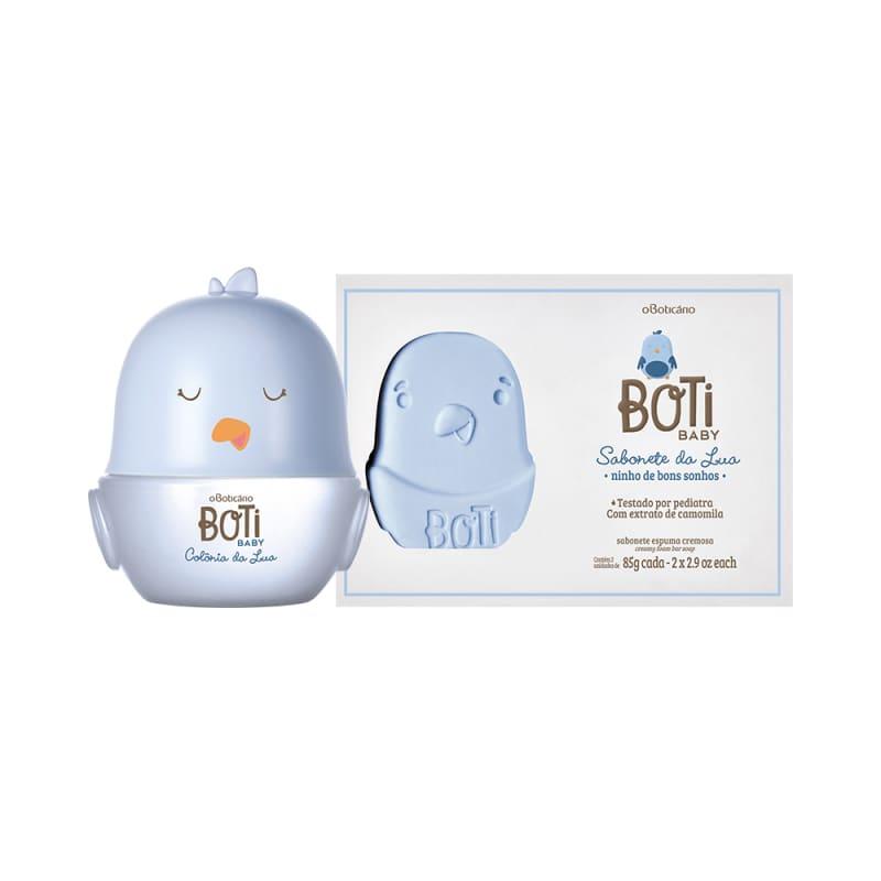 Conjunto Boti Baby Da Lua o Boticário Baby - Desdodorante Colônia 100ml + Sabonete em Barra 2x85g