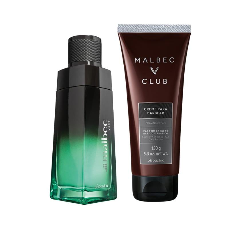 Conjunto Malbec Vert + Club o Boticário (2 produtos)