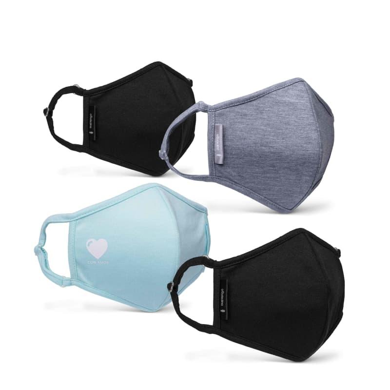 Combo Máscaras De Proteção: 4 Unidades