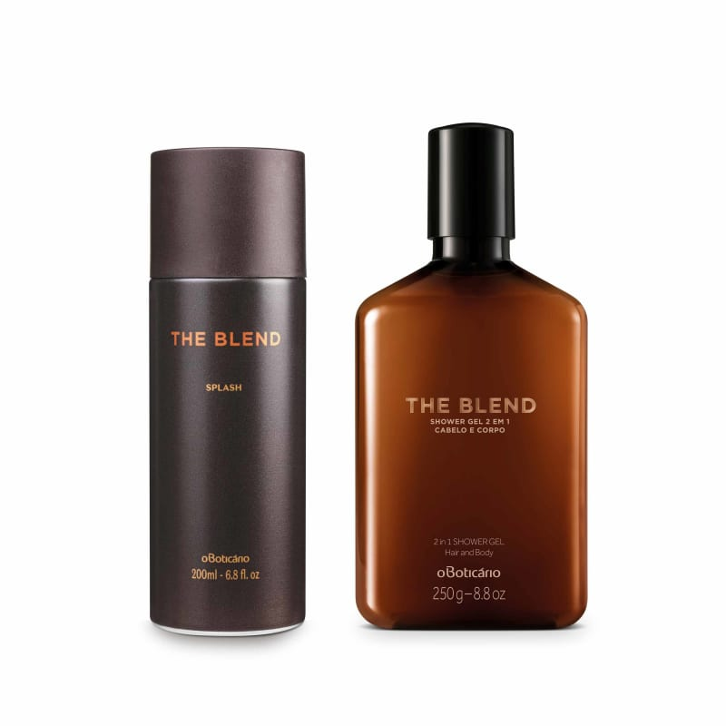 Combo The Blend: Shower Gel, 250G + Splash, 200Ml
