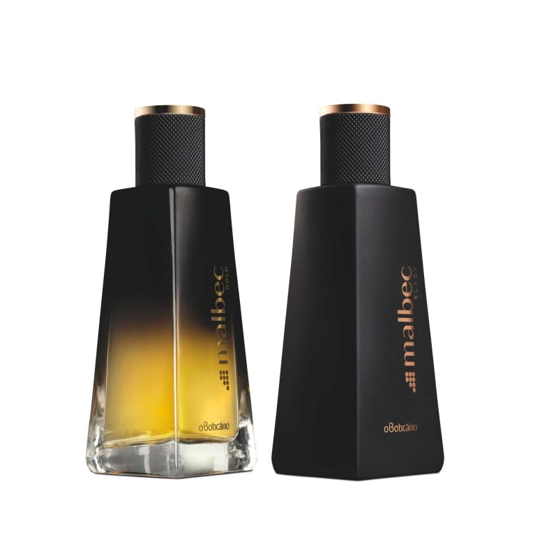 Combo Malbec: Desodorante Colônia Malbec Gold, 50Ml + Desodorante Malbec Black, 50Ml
