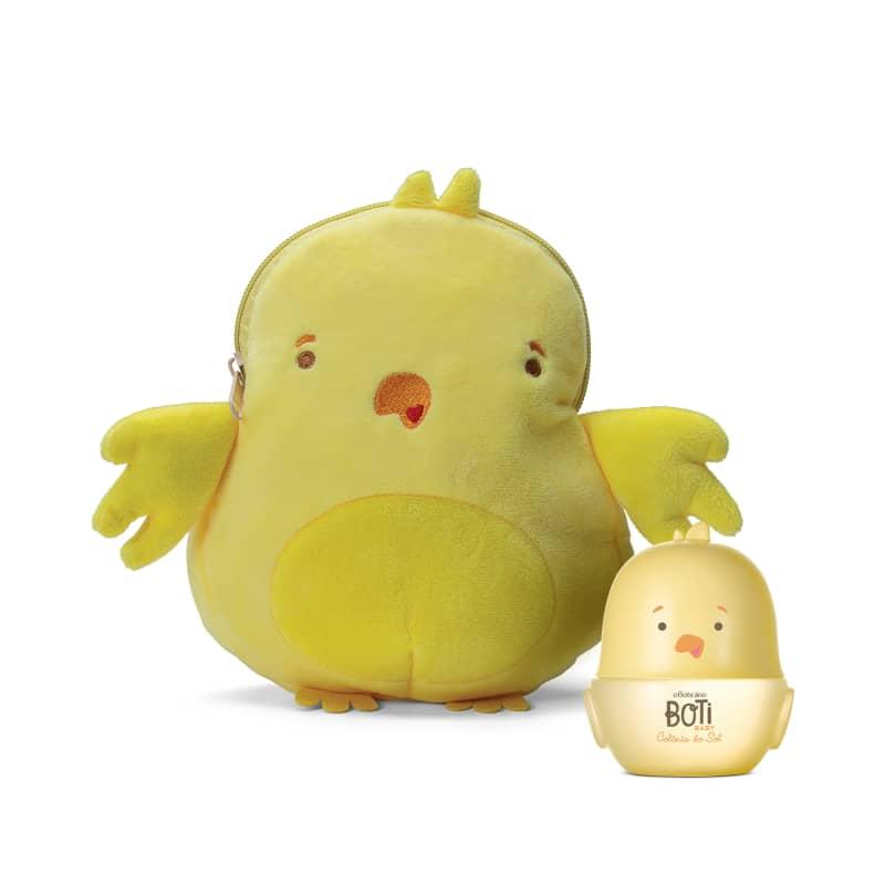 Combo Boti Baby: Sol Colônia 100ml + Necessaire Fido