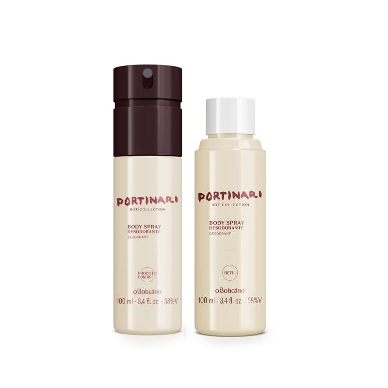 Combo Boticollection Portinari: Desodorante Body Spray 100ml + Refil
