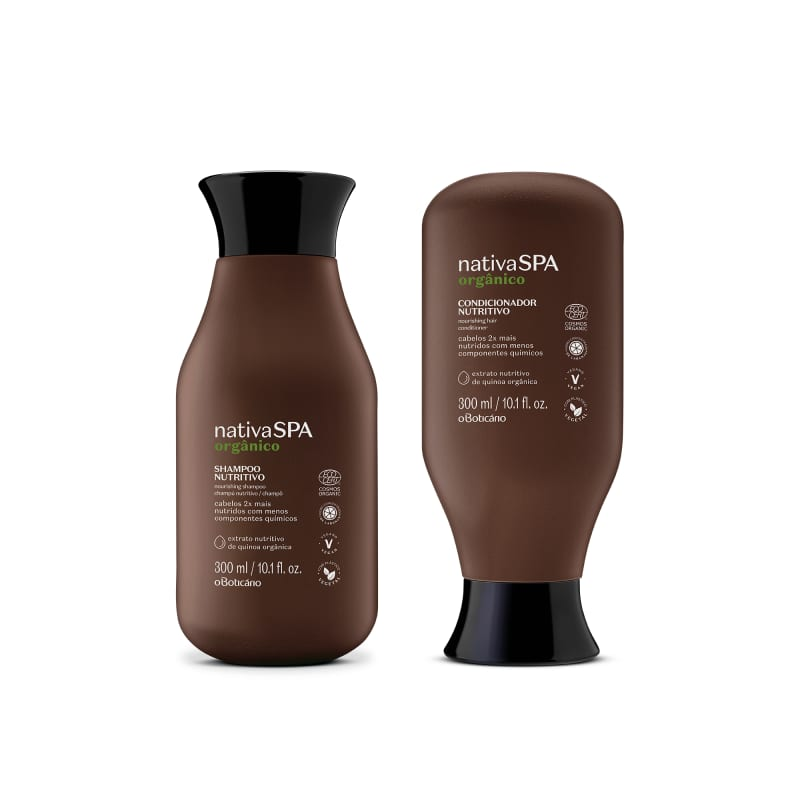 Combo Nativa Spa Orgânico: Shampoo 300ml + Condicionador 300ml
