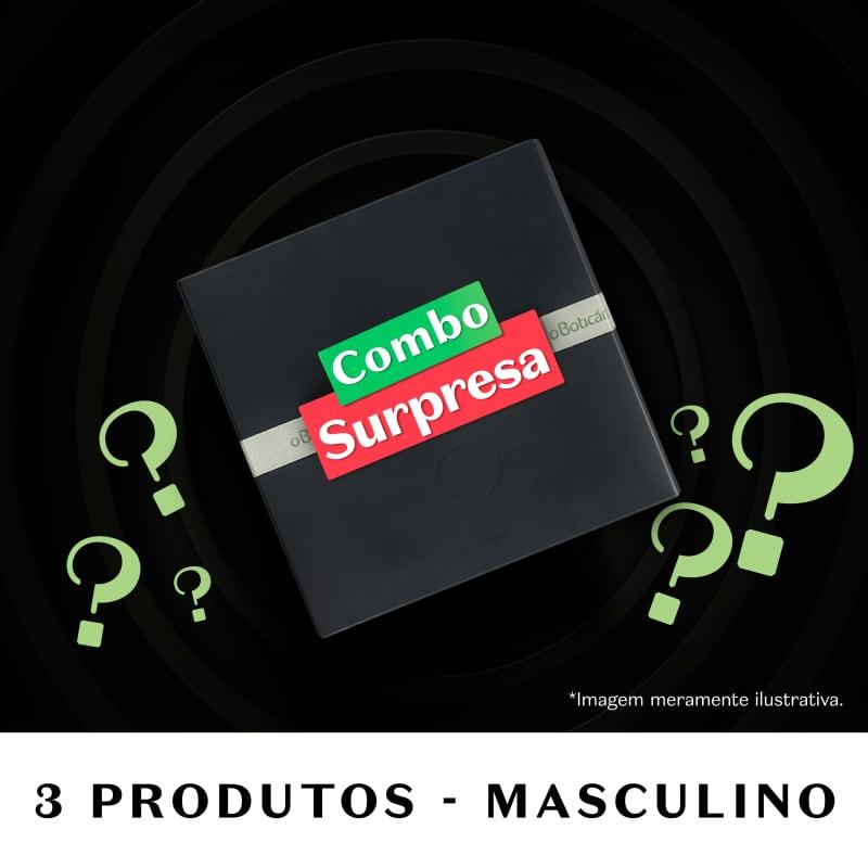 Combo Surpresa Masculino Beauty Week (3 itens)