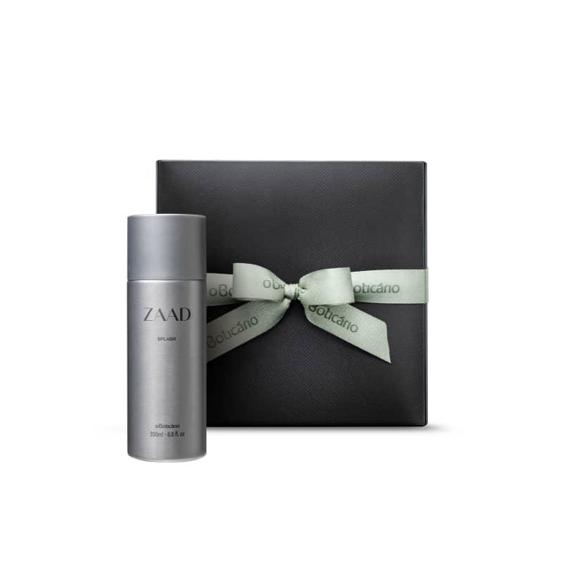 Combo Presente Zaad: Body Splash Desodorante Colônia 200ml + Caixa de Presente