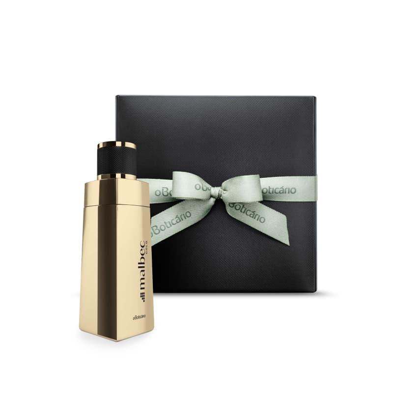 Combo Presente Malbec Gold Edição Limitada: Desodorante Colônia 100ml + Caixa de Presente