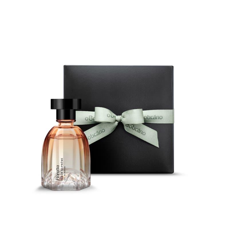 Combo Presente Floratta Fleur Suprême: Eau de Parfum 75ml + Caixa de Presente