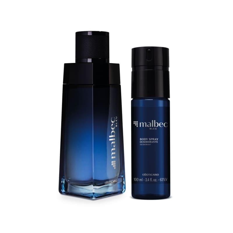 Combo Malbec Bleu: Desodorante Colônia 100ml + Body Spray 100ml