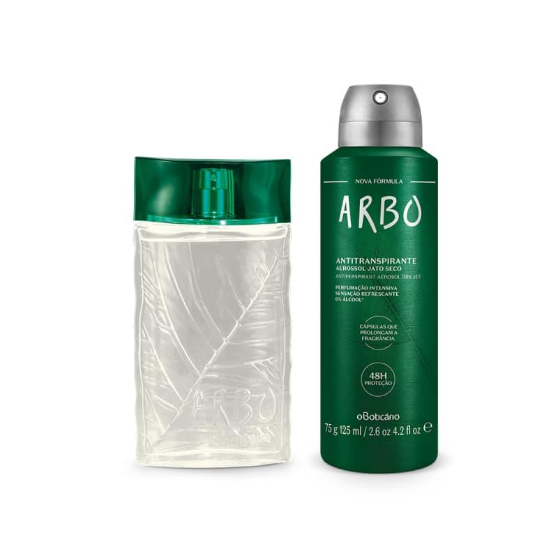 Combo Presente Arbo: Desodorante Colônia 100ml + Antitranspirante Aerossol 75g