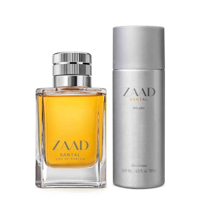 Combo Zaada Santal: Eau de Parfum 95ml + Splash 200ml