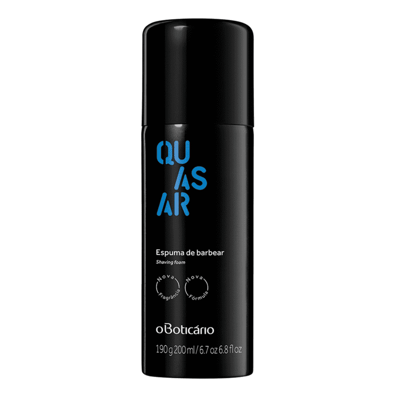 Espuma de Barbear Quasar 200ml