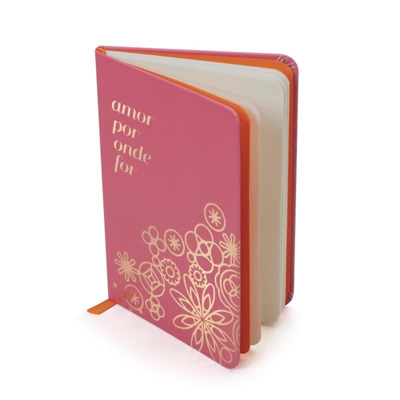 Caderno Amor Por Onde For