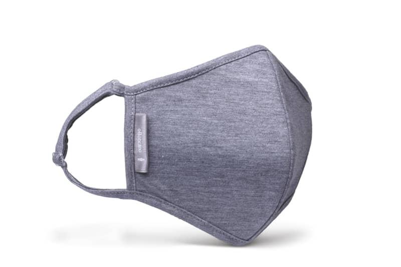 Máscara de proteção malha cinza mescla M