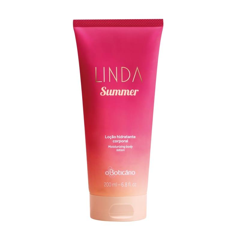 Hidratante Desodorante Corporal Linda Summer 200ml