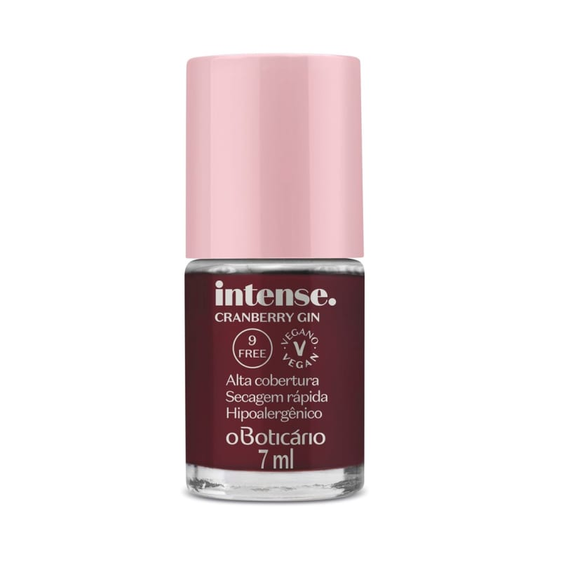 Esmalte Cranberry Gin Intense 7ml
