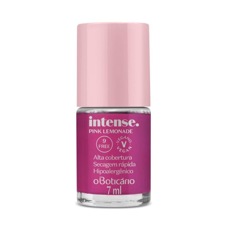 o Boticário Intense Pink Lemonade - Esmalte 7ml