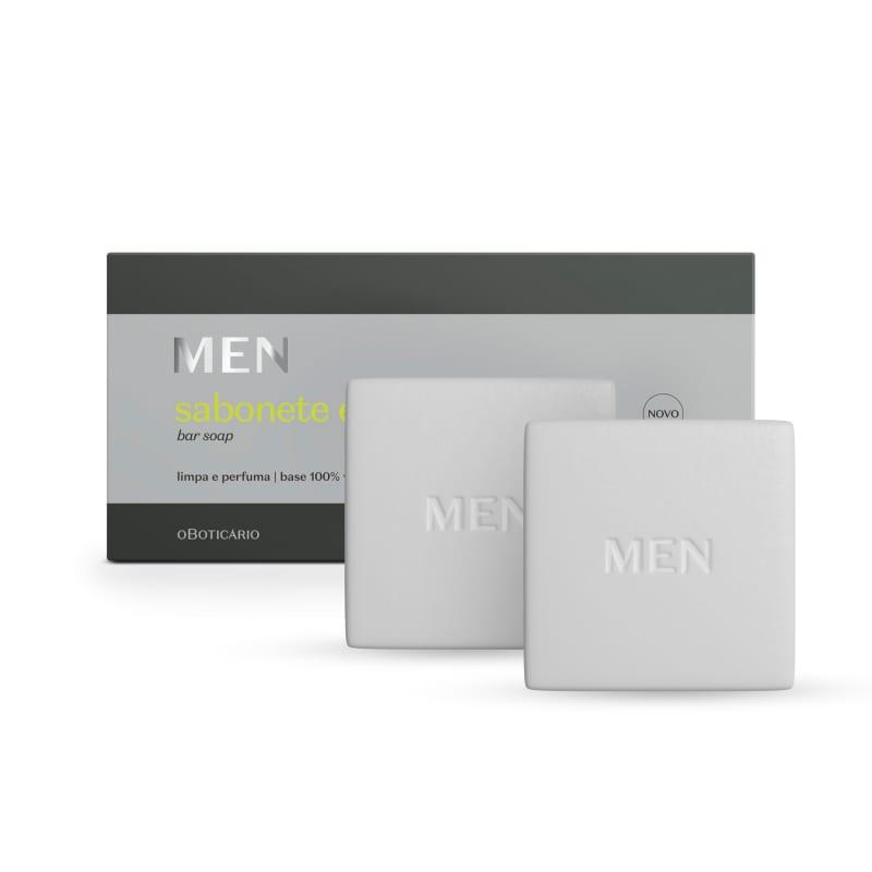 o Boticário MEN - Sabonete em Barra 2x90g