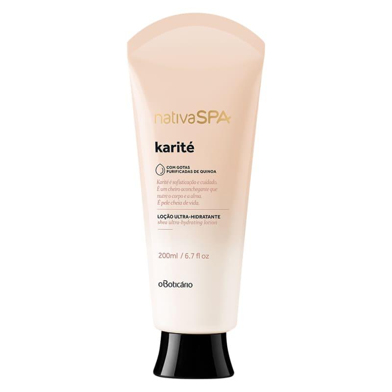 o Boticário Nativa SPA Karité - Loção Ultra Hidratante Desodorante Corporal 200ml