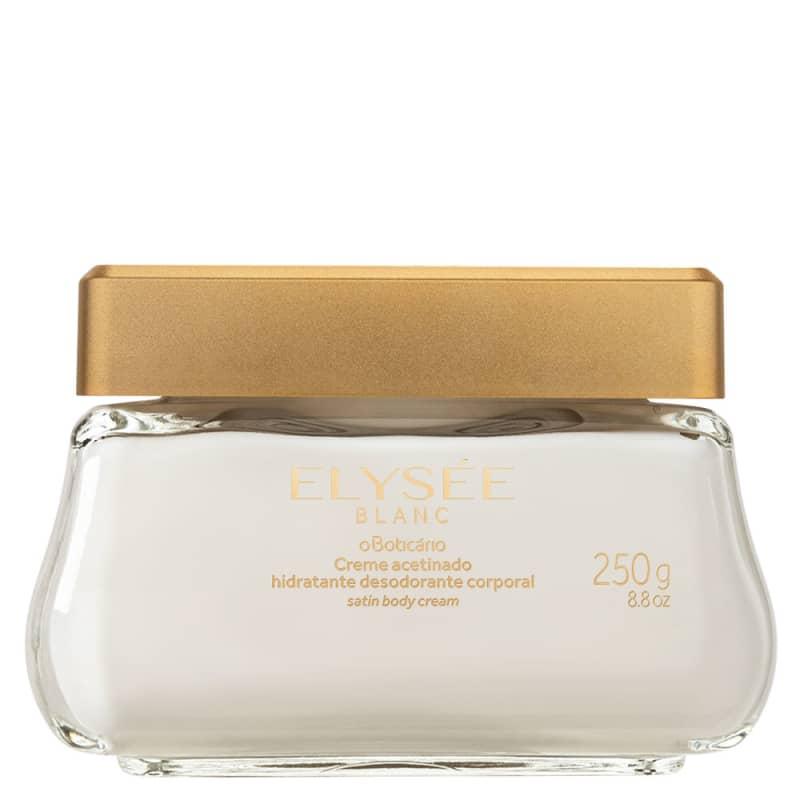 Creme Hidratante Acetinado Desodorante Elysée Blanc 250g