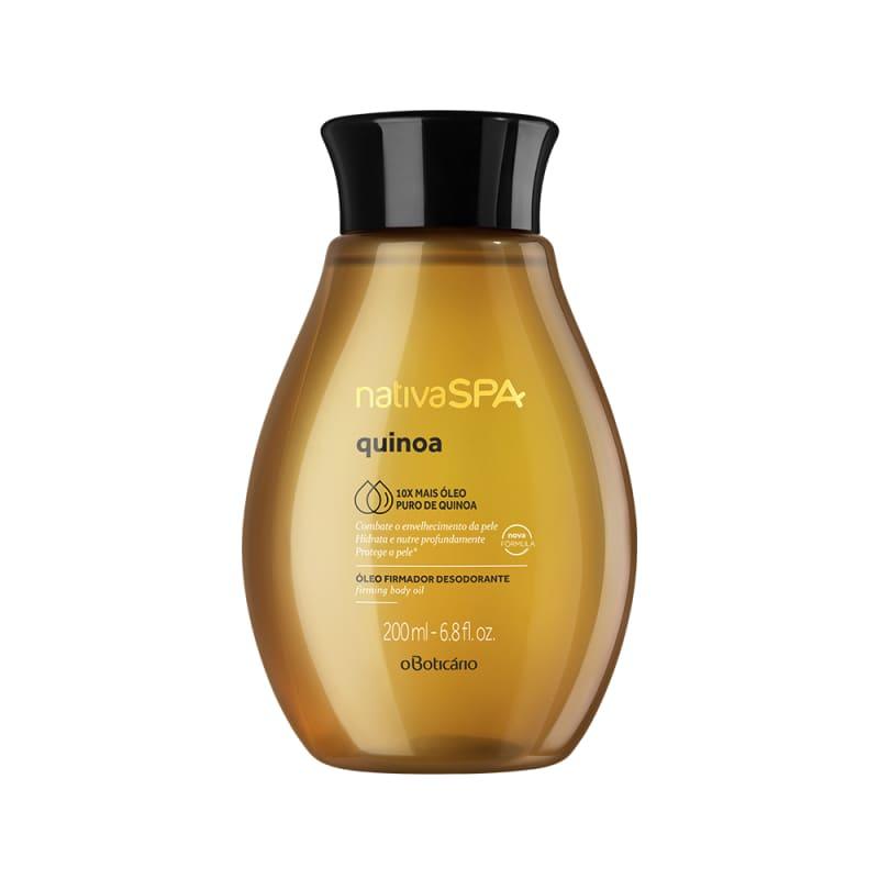 Óleo Desodorante Hidratante Corporal Nativa SPA Quinoa, 200 ml