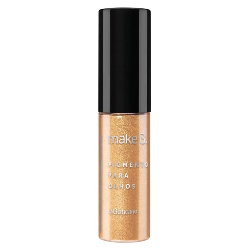 Pigmento para Olhos Gold Luxury Make B. 1,1g