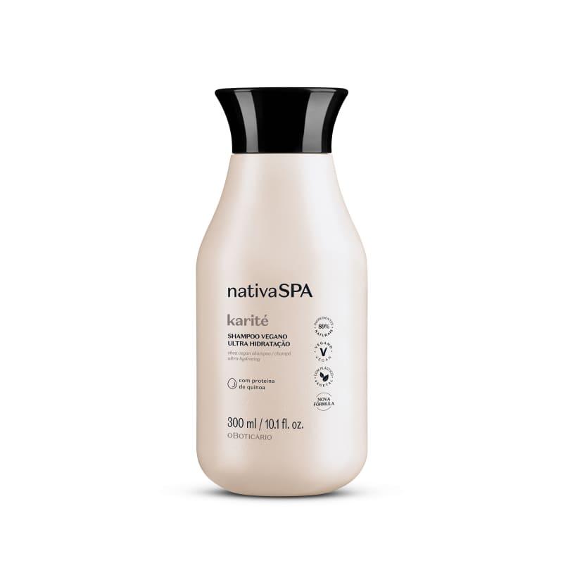 Shampoo Vegano Ultra Hidratação Nativa Spa Karité 300ml