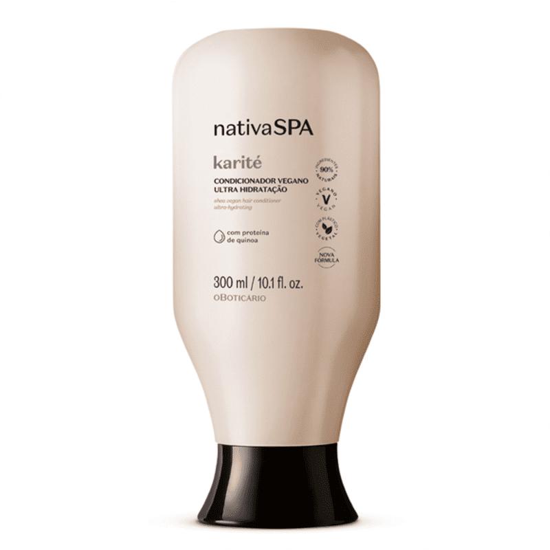 Condicionador Vegano Ultra Hidratação Nativa Spa Karité 300ml