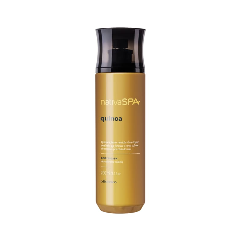 Body Splash Desodorante Colônia Nativa SPA Quinoa, 200 ml