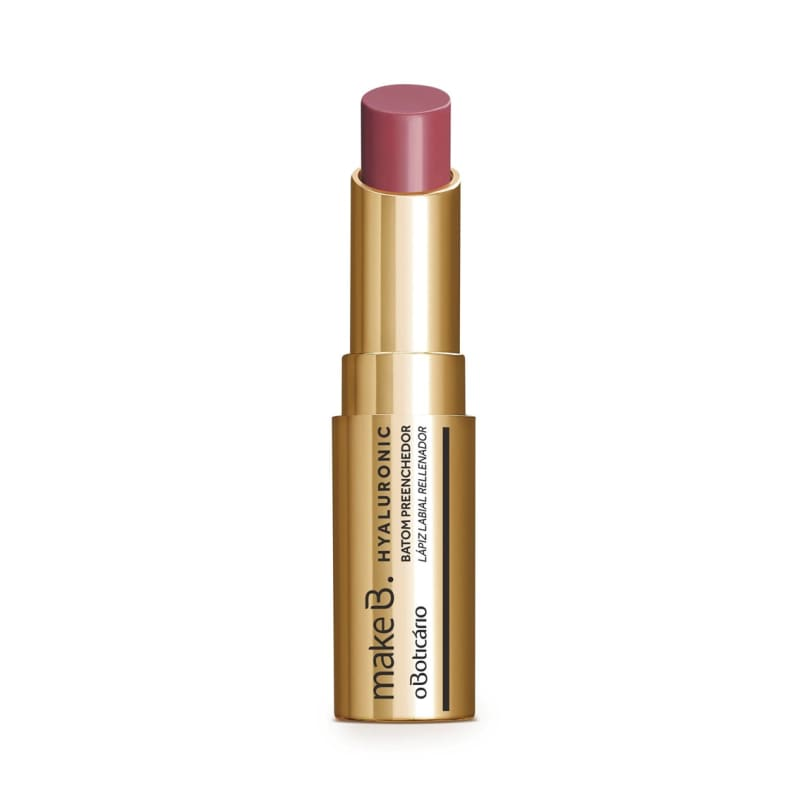 Batom Stick Rose Blush FPS 15 Make B. Hyaluronic, 3,4 g