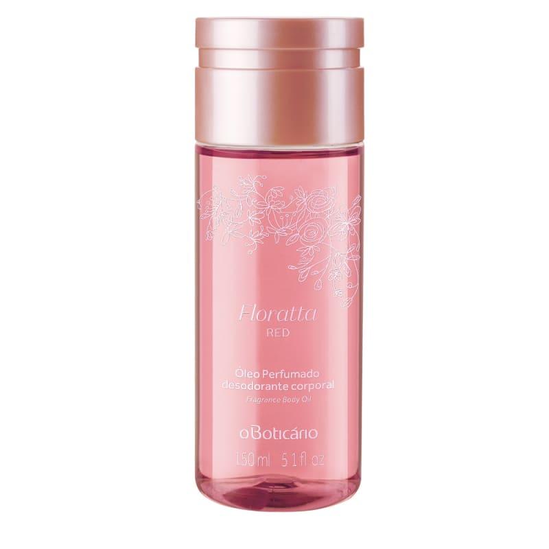 Óleo Perfumado Desodorante Corporal Floratta Red, 150ml