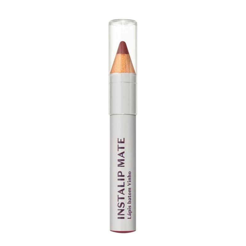 Lápis Batom Instalip Vinho Intense 1,2g