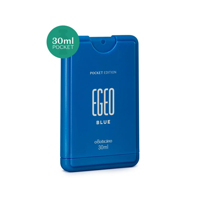 Egeo Blue Desodorante Colônia Pocket 30 ml