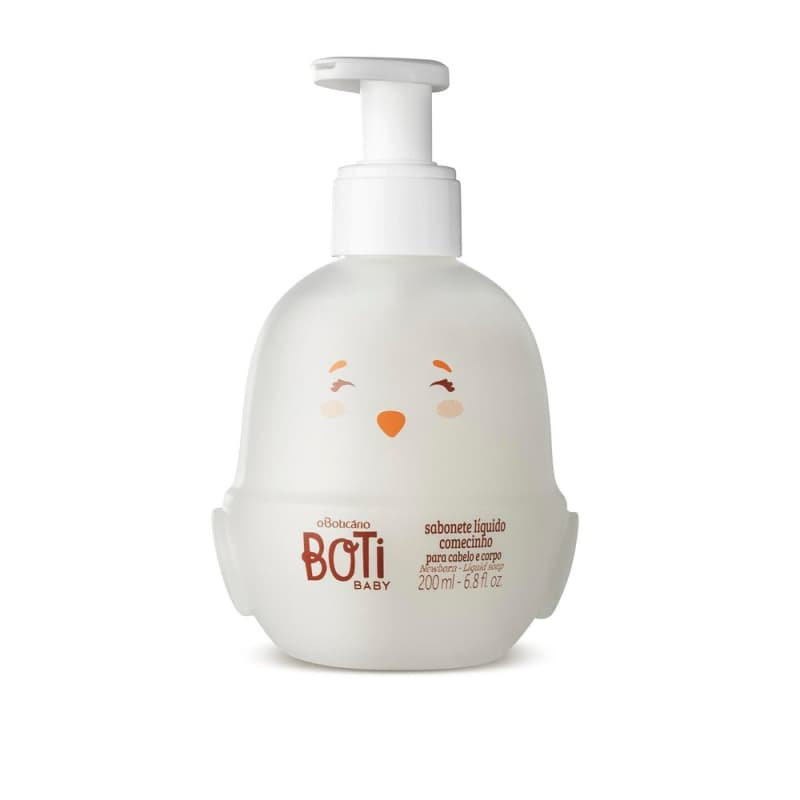 Sabonete Líquido Recém Nascido Boti Baby Comecinho, 200 ml