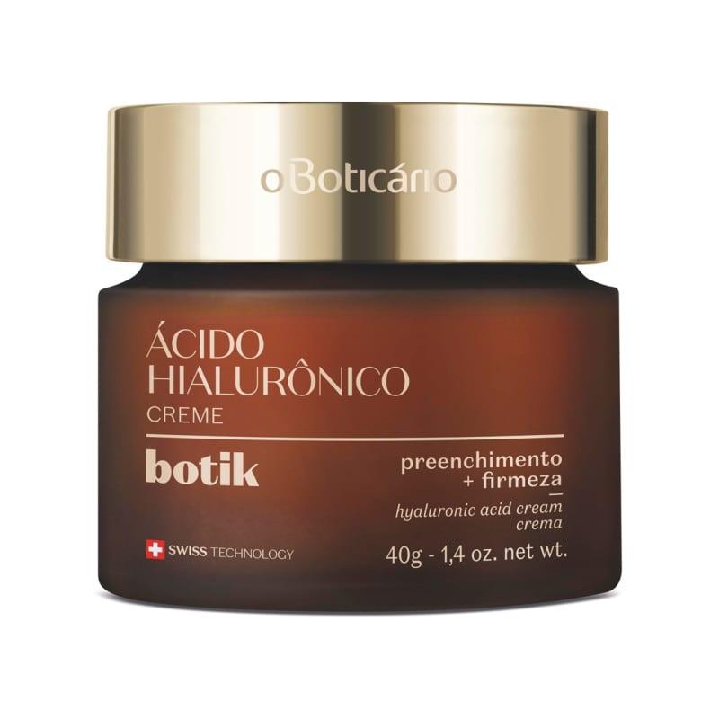 Creme Facial Firmador Ácido Hialurônico Botik 40g