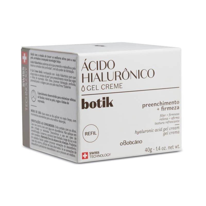Refil Creme Facial Firmador Ácido Hialurônico 40g
