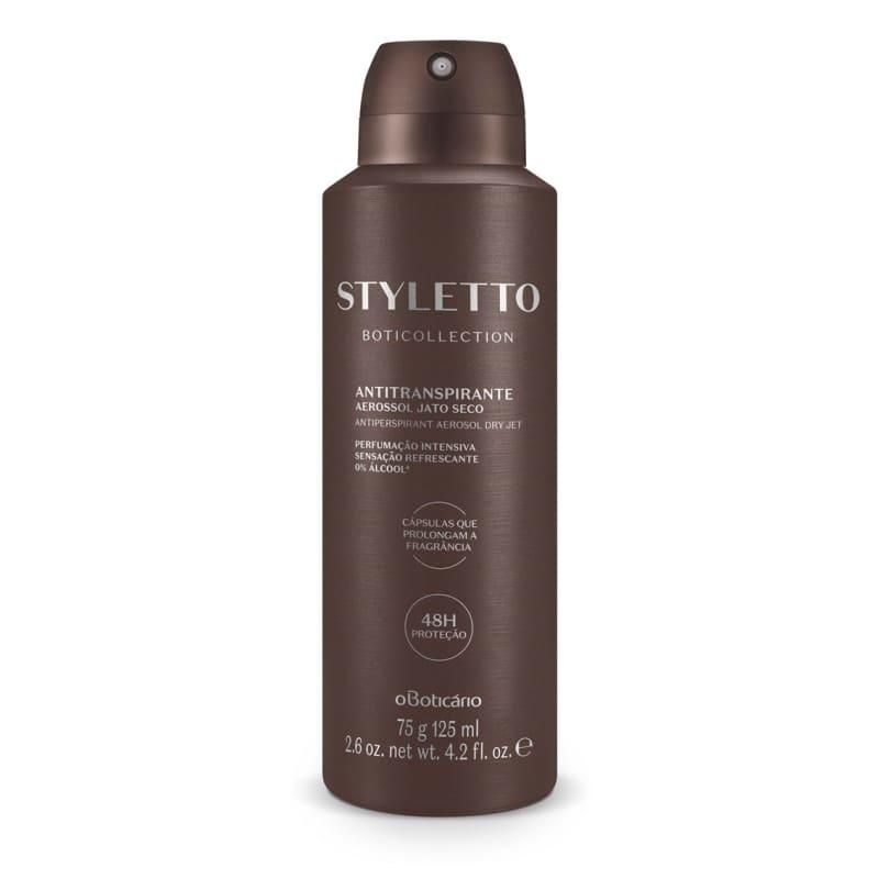 Desodorante Antitranspirante Aerossol Boticollection Styletto 75g