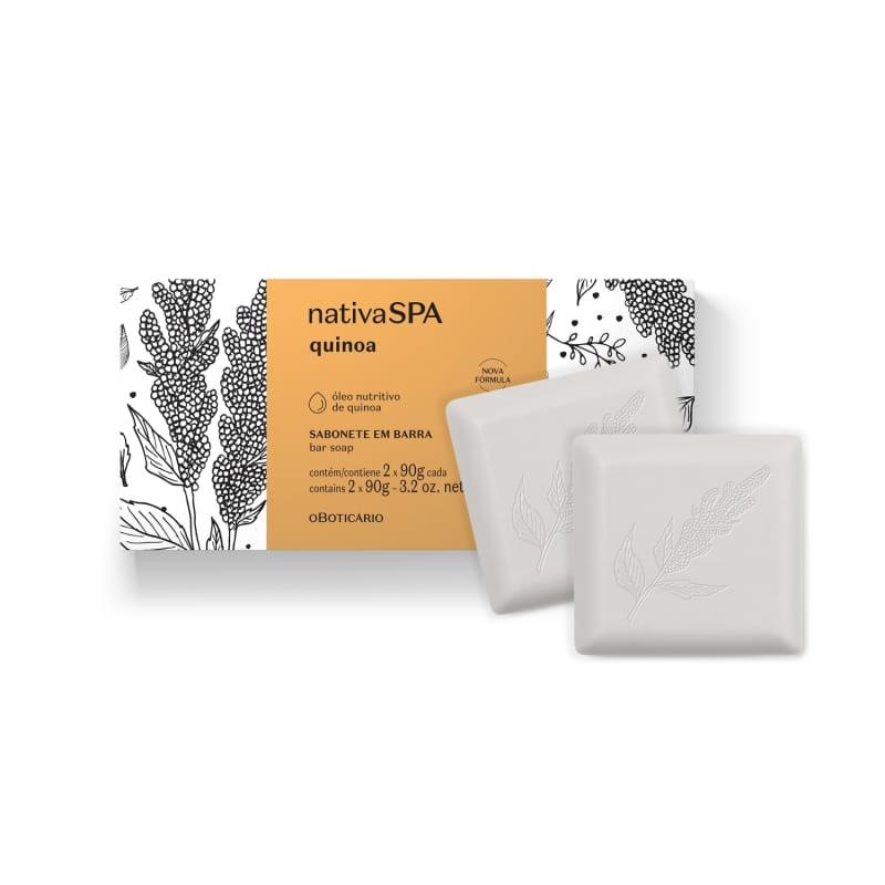 Sabonete em Barra Nativa SPA Quinoa 2 unidades de 90g