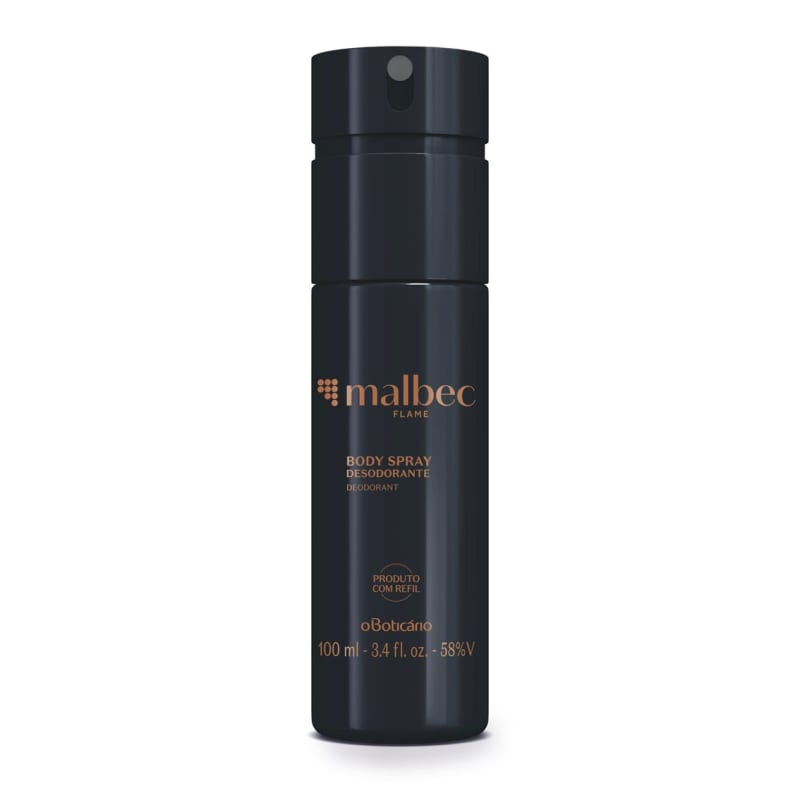 Desodorante Body Spray Malbec Flame 100ml