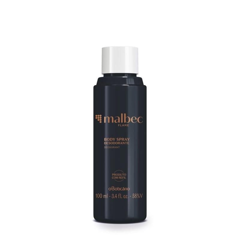 Refil Malbec Flame Desodorante Body Spray 100ml