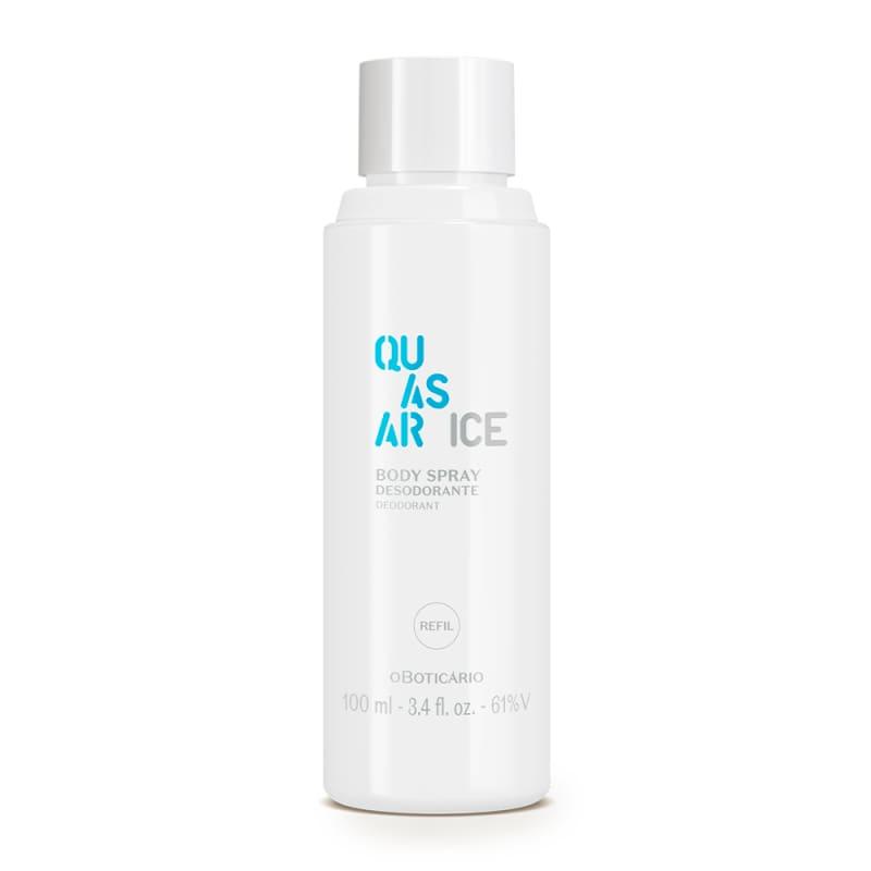 Refil Body Spray Desodorante Quasar Ice 100ml