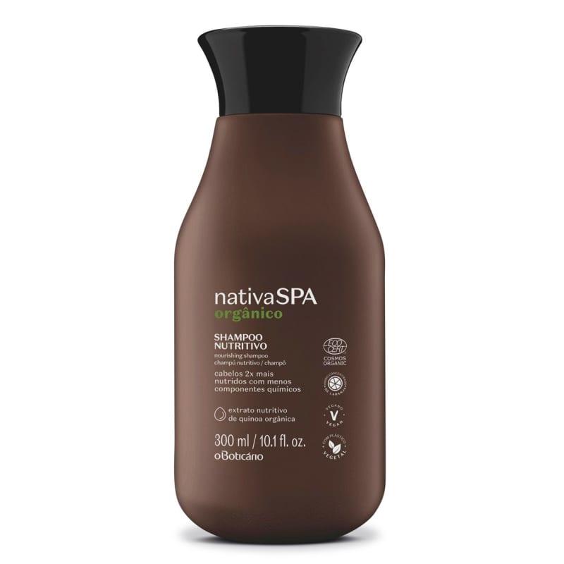 Shampoo Nutritivo Nativa Spa Orgânico 300ml