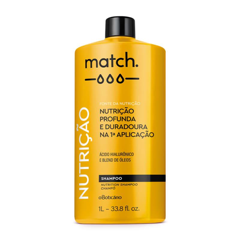 Shampoo Match Fonte da Nutrição 1L