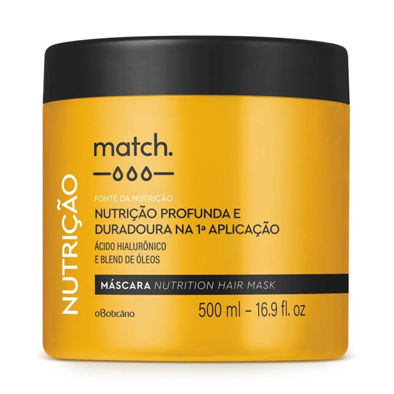 Máscara Capilar Match Fonte da Nutrição 500ml