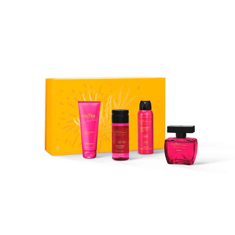 Kit Presente Coffee Woman Seduction (4 itens)