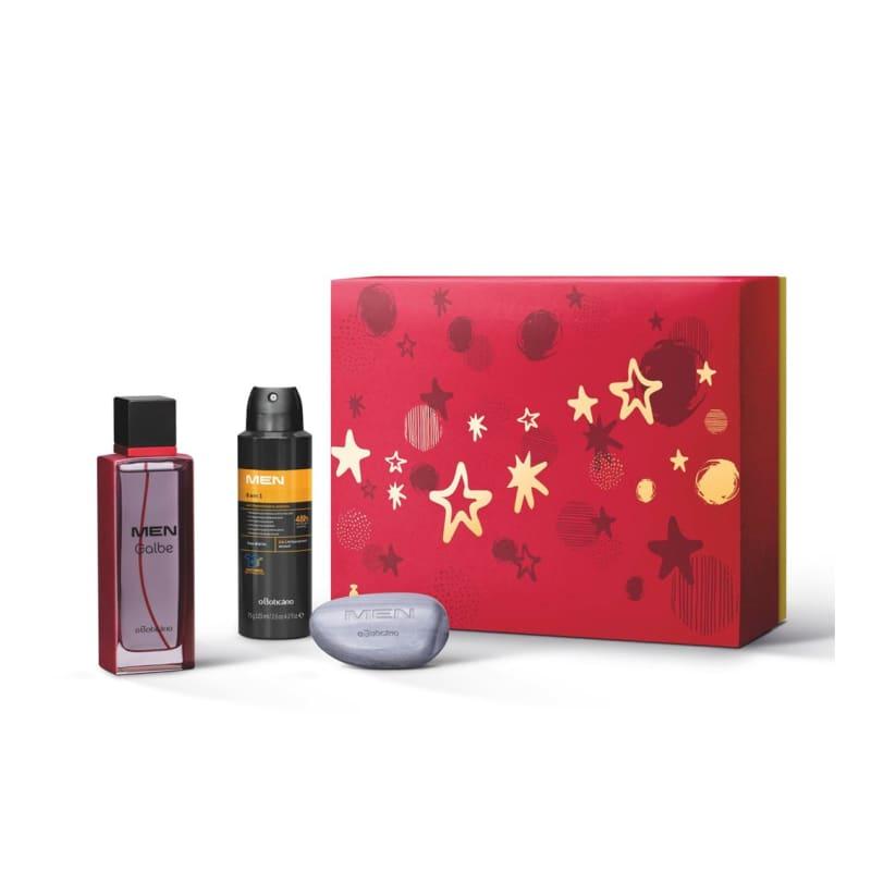 Kit Presente MEN: Desodorante Colônia 100ml + Antitranspirante 75g + Sabonete em Barra