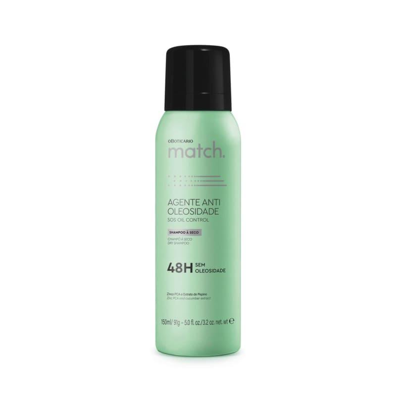 o Boticário Match. Agente Antioleosidade - Shampoo à Seco 150ml