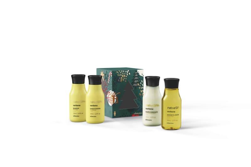 Kit Presente Nativa Spa Verbena Miniaturas (4 itens)